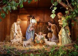 Crèche de Noël à Chambost-Longessaigne