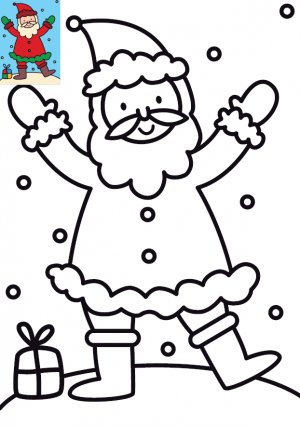 Dessins Et Illustrations De Noel Coloriage Pere Noel A Imprimer