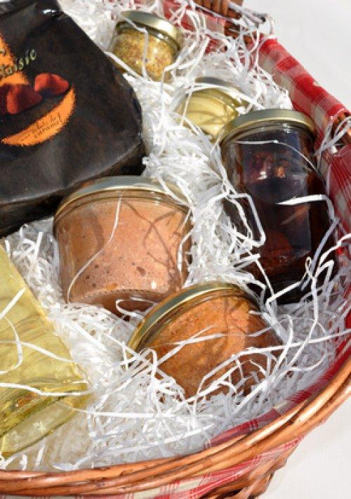 Top Idée cadeau de Noël pour adulte : Le panier garni gourmand, une  UW94