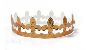 Modèle de couronne des rois à découper et à faire soi-même