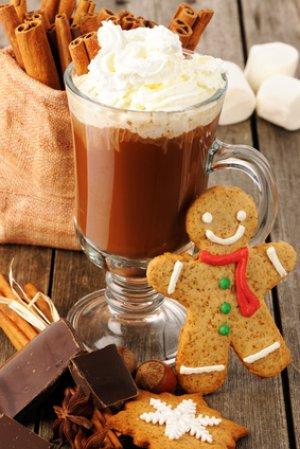 Recette du véritable chocolat chaud de Noël