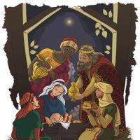 La naissance de Jésus Christ dans la crèche