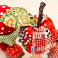 Les boules de Noël en patchwork