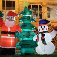 Le sapin de Noël gonflable : un sapin original !
