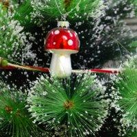 Le sapin de Noël tête à l'envers