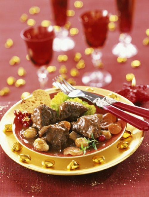 Recette de no l le civet de chevreuil du gibier - Cuisiner du chevreuil au four ...