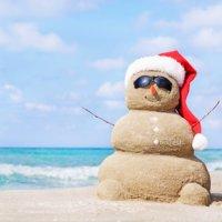 Noël en Australie : Les pieds dans le sable !