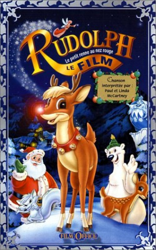Un film de no l pour les enfants rudolph le petit renne - Dessin de renne au nez rouge ...