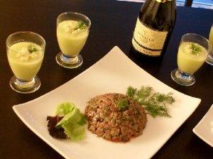 La recette du tartare de thon : une entrée de Noël qui sort du commun !