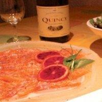 La recette du carpaccio de saumon à l'orange sanguine pour Noël