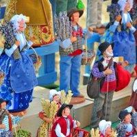 La crèche provençale et les santons de Noël
