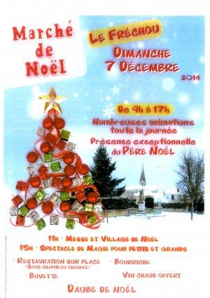 Le Marché de Noël à Le Fréchou
