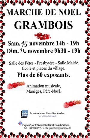 Marché de Noël à Grambois