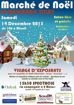 Marché de Noël à La Meilleraie-Tillay