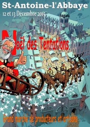 Marché de Noël à St Antoine L Abbaye 2015