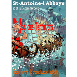Marché de Noël à St Antoine L Abbaye