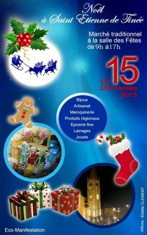 Marché de Noël à Saint-Étienne-de-Tinée