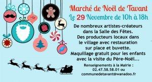 Marché de Noël à Tavant