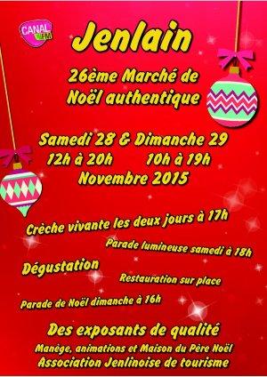 Marché de Noël à Jenlain