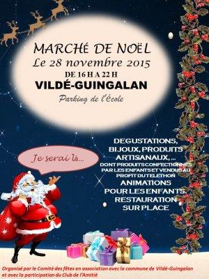 Marché de Noël à Vildé-Guingalan