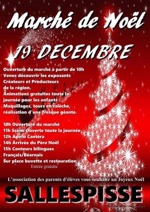 Marché de Noël à Sallespisse