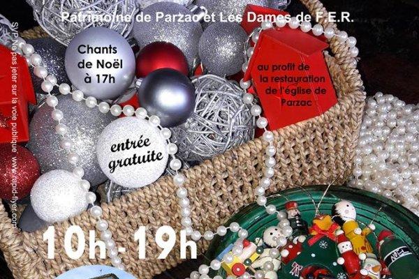 Marché de Noël à Parzac