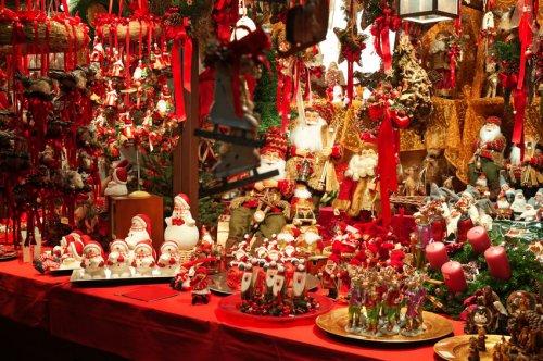 Marché de Noël des Commerçants 2009 à Lutterbach