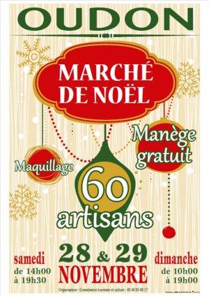 Marché de Noël à Oudon