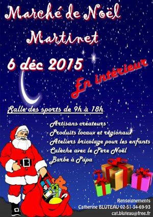 Marché de Noël à Martinet