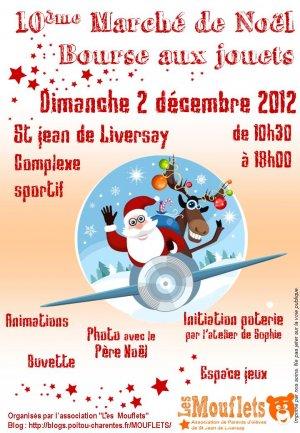 Marché de Noël et bourse aux jouets à Saint-Jean-de-Liversay